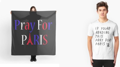 The Vultures Trying to Make a Profit Off the Paris Attacks