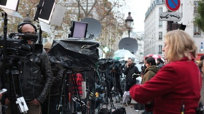 Terwijl de ogen van de wereld gericht zijn op Parijs is er geen tijd om te rouwen