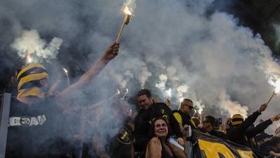 Ultras neben Familien: Mit der Black Army beim Stockholmer Hassderby