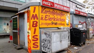 Unprätentiöse Imbisse: Puffer-Imbiss am Hermannplatz