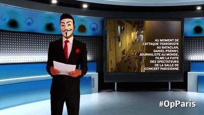 Was Anonymous bisher tatsächlich gegen den IS getan hat