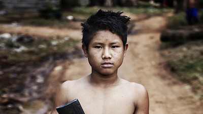 Photos from Burma's Civil War