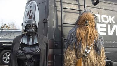 Darth Vader mischt die ukrainische Politik auf