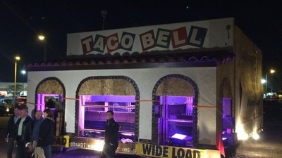 I Followed the Original Taco Bell on Its 45-Mile Journey to Taco Bell's Corporate Headquarters