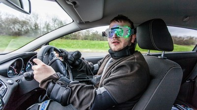 I Tried a Drug Driving Simulation Suit, But it Wasn't Very Druggy