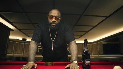 I Watched Rick Ross Sit on a Couch and Listen to His Own Album