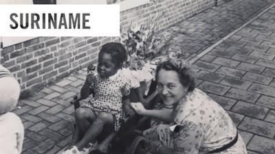 Mijn tante was een van de eerste Surinamers die naar Nederland kwamen