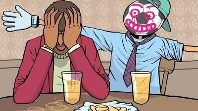 ¿Por qué millones de hombres pierden a sus amigos cuando llegan a los veinte años?
