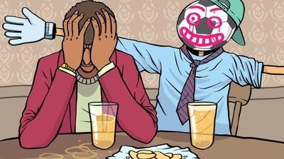Waarom je als man na je twintigste je vrienden kwijtraakt