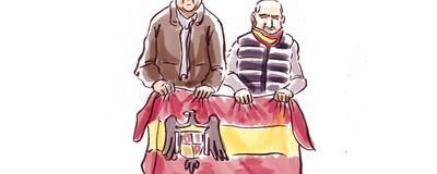 Así fue la misa por Franco y José Antonio en el Valle de los Caídos