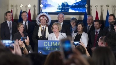 Canada's Oil-Rich Province Is Bringing in a Carbon Tax and Justin Trudeau Is Thrilled
