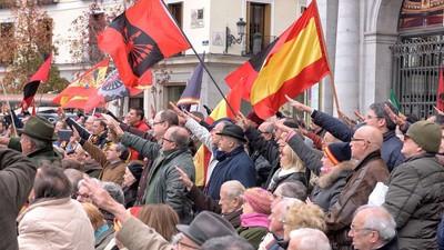 La concentración franquista en Madrid no tuvo ni puta gracia