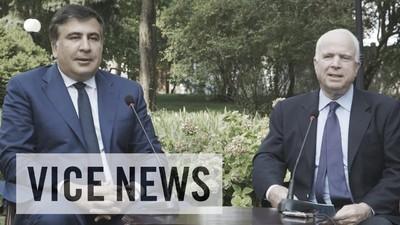 Guvernatorul Odessei, fostul președinte acuzat de corupție în Georgia