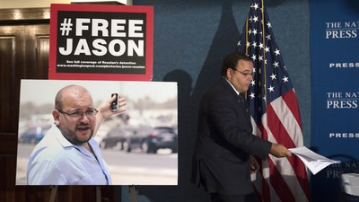 Iran Says 'Washington Post' Reporter Jason Rezaian Has Been Sentenced to Prison—But Won't Say Anything Else