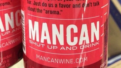 The Truth of Masculinity Lies in This Newly Available Can of Wine