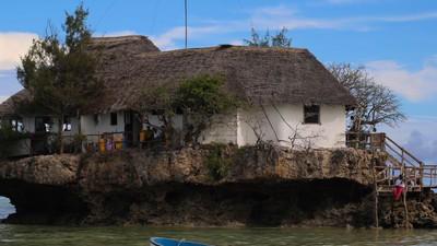 Wie man ein Restaurant mitten im Indischen Ozean betreibt