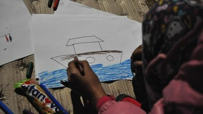 Svět podle dětí uprchlíků