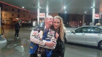 Ich war eine Nacht in einer Tankstelle in Floridsdorf fort