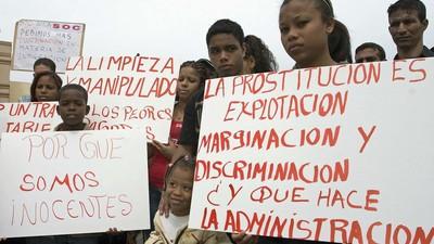 Partidos españoles sobre la prostitución: regulación, abolición y no saben, no contestan