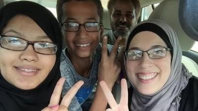 'Uhren-Junge' Ahmed Mohamed will 15 Millionen Dollar und eine Entschuldigung