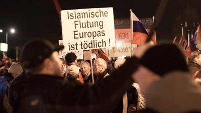 Wegen Pegida kommen mehr Ausländer nach Dresden