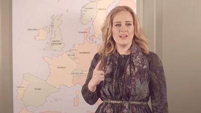 Adele Just Announced a 2016 Tour by Impersonating Harry Potter Doing the Weather Forecast