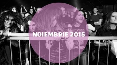 Cea mai bună muzică românească din noiembrie 2015