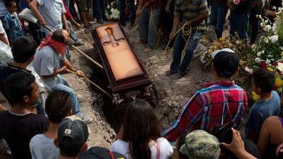 La Comisión Nacional de los Derechos Humanos acusa a la policía de matar a seis personas