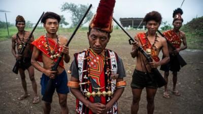 Foto da un villaggio indiano devastato dal consumo di oppio
