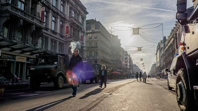 Ondanks de oorlogssfeer was het de afgelopen week best gezellig in Brussel