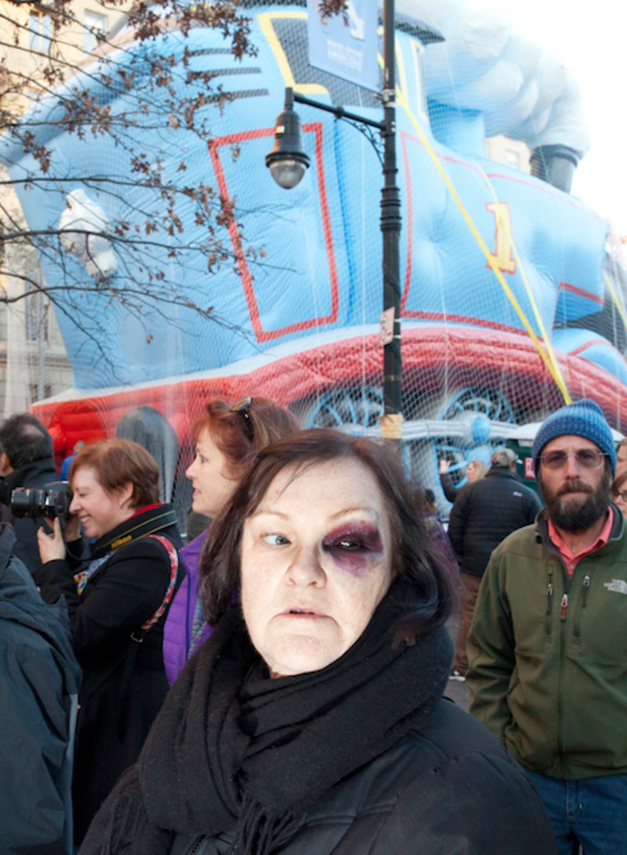 Photos from the 2015 Macy's Thanksgiving Day Parade Balloon Inflation
