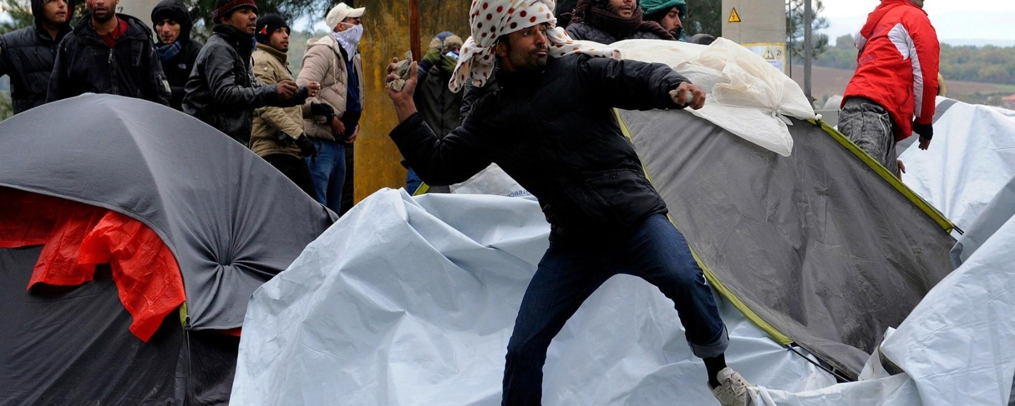 Η Εξέγερση των Εγκλωβισμένων Μεταναστών στην Ειδομένη