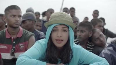 A M.I.A. critica a crise dos refugiados no seu novo videoclip