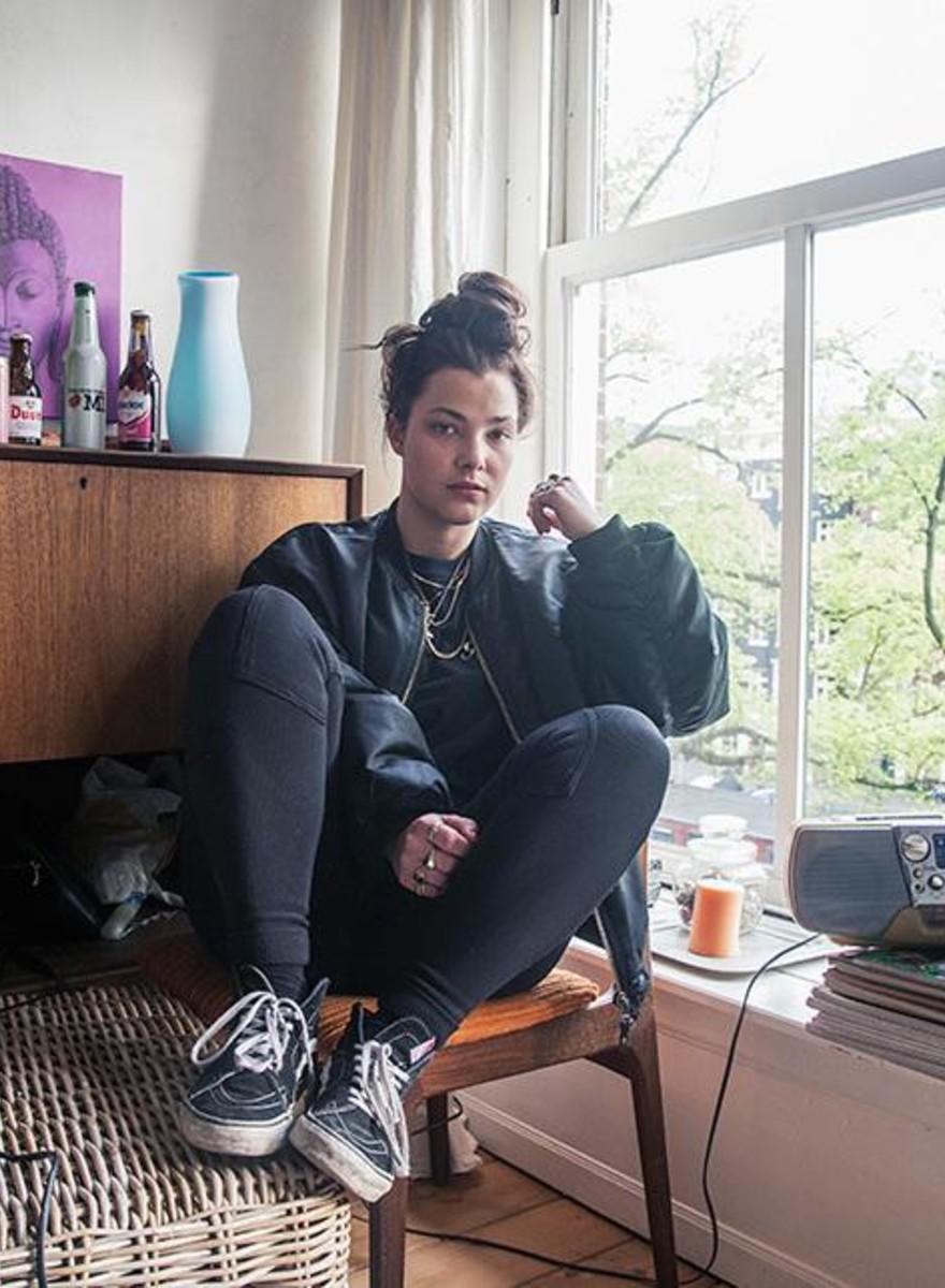 Foto delle stanze di giovani olandesi che vivono da sole
