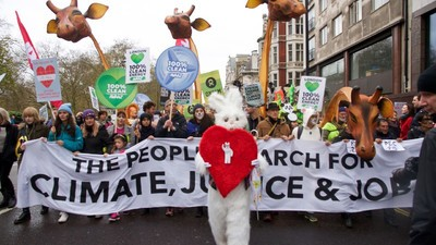 Here's What We Saw at the Huge London Protest Demanding Action on Climate Change