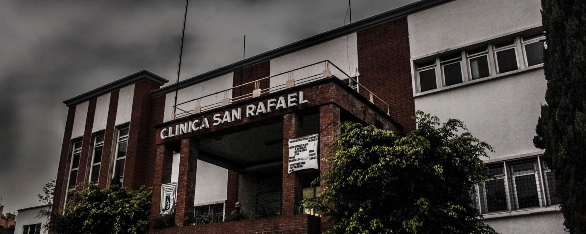 Los restos de la Clínica San Rafael