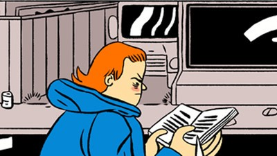 Michael Is Present, Alive, and Vital in This Week's Comic from Stephen Maurice Graham