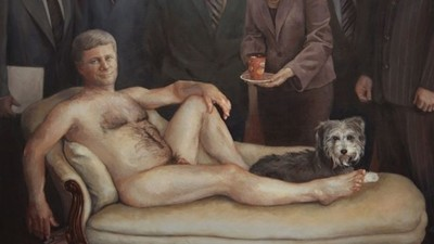 The Guy Who Bought the Stephen Harper Nude Painting is a Legend