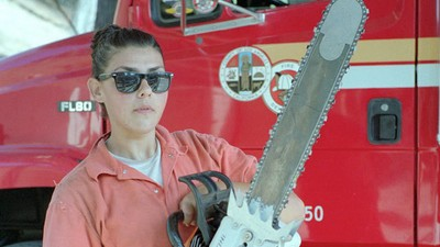 What It's Like to Be a Female Firefighter in California Prison