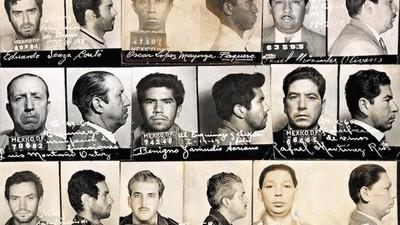Fotografías perdidas de los archivos de la policía mexicana