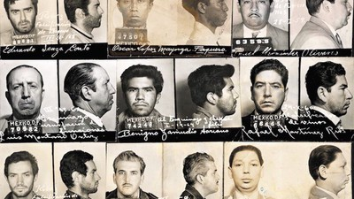 Guerrillas, Bandits, and Terrorists: Lost Police Mugshots from Mid-Century Mexico
