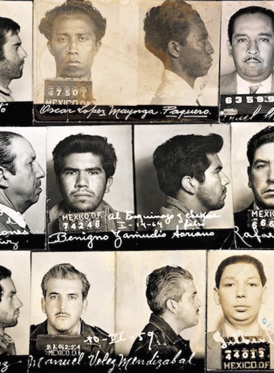 ​Guerrillas, Bandits and Terrorists: Lost Police Mugshots From Mid-Century Mexico