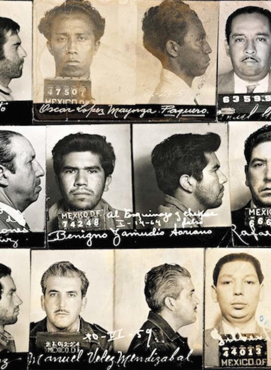 Guerrilleros, ladrones y terroristas: las fotografías perdidas de la policía mexicana