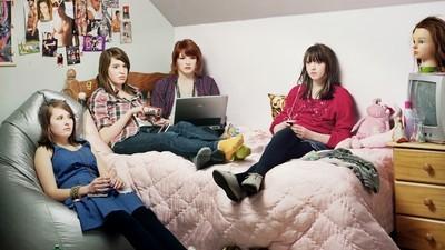 Fotografías de los adolescentes de la era post-internet