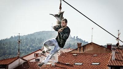 Así maltratan a los animales en los festejos más brutales de España