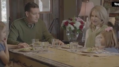 Ted Cruz Coaching His Family Through a Campaign Ad Is Awkward as Hell