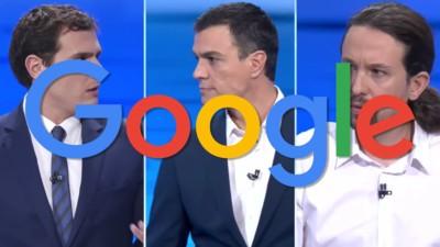 Las estúpidas búsquedas en Google que hacemos sobre los candidatos del 20D