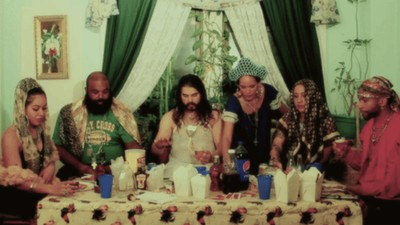 'Discount Saints' Imagines the Last Supper with Chinese Takeout, Snapbacks, and Hoop Earrings