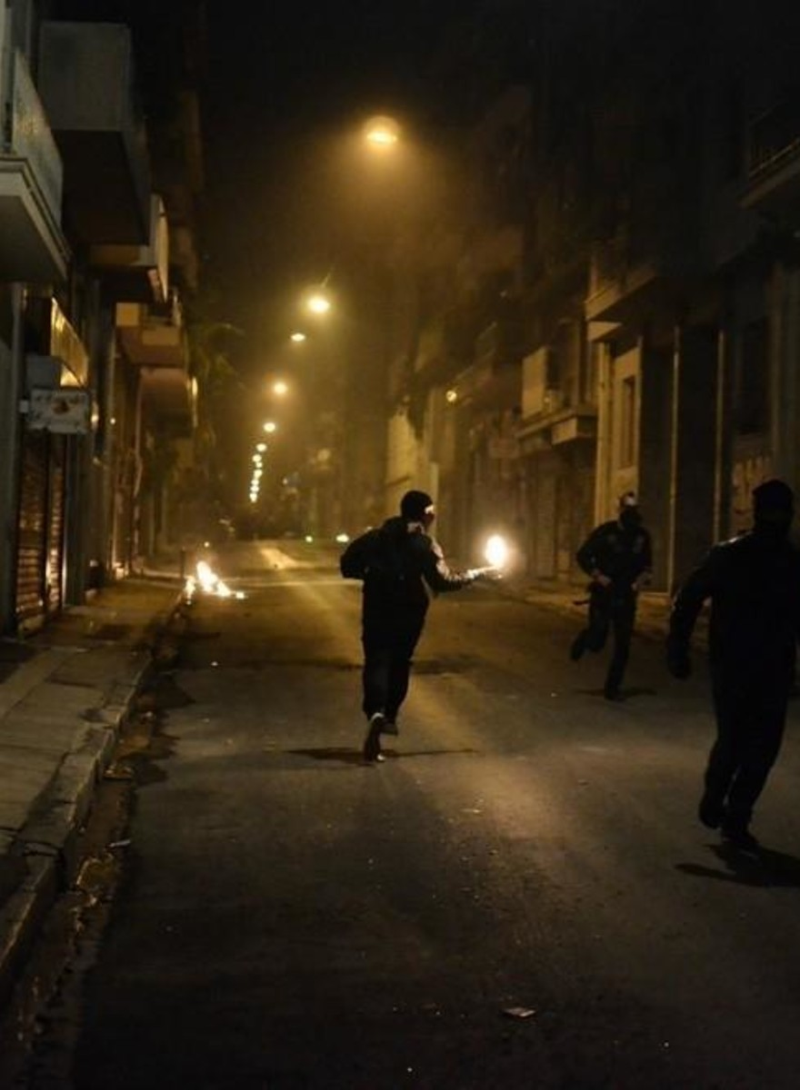 Riots Marked the 7th Anniversary of Alexandros Grigoropoulos' Death in Athens Last Night
