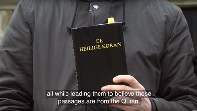 Video-Experiment: Ist das noch der Koran – oder schon die Bibel?